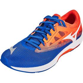 Mizuno Wave Sonic 2 Chaussures Homme, reflex blue/white/nasturtium